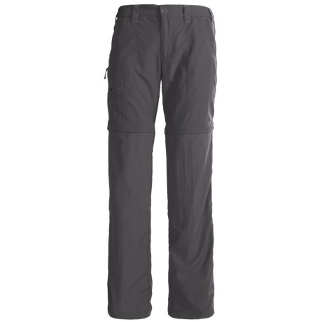 White Sierra El Dorado Convertible Pants - UPF 30 (For Women) in Caviar
