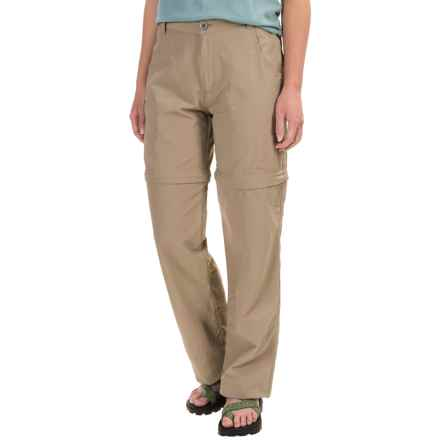 White Sierra El Dorado Convertible Pants - UPF 30 (For Women) in Khaki - Closeouts