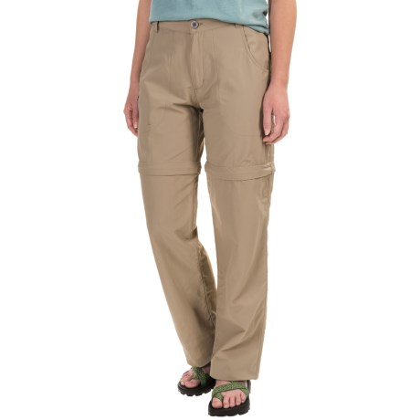 White Sierra El Dorado Convertible Pants - UPF 30 (For Women) in Khaki
