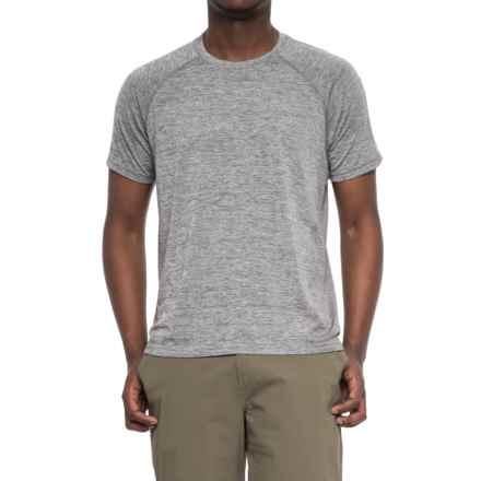 White Sierra Eureka Seamless T-Shirt - UPF 30, Short Sleeve (For Men) in Heather Grey - Closeouts