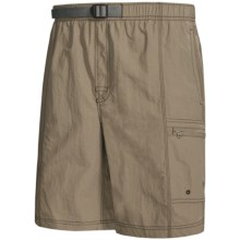 White Sierra Everyday Shorts - UPF 30 (For Men) in Bark - Closeouts