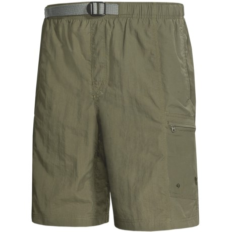 White Sierra Everyday Shorts - UPF 30 (For Men) in Sage