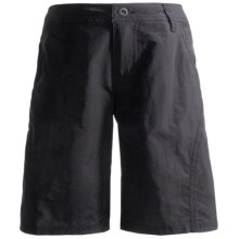 White Sierra Explorer Shorts - UPF 30 (For Boys) in Titanium - Closeouts