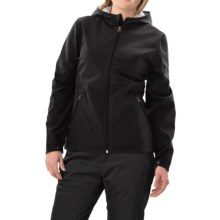 White Sierra Full Moon Soft Shell Jacket (For Women) in Black - Closeouts
