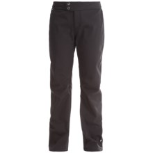 White Sierra Full Moon Soft Shell Pants - Fleece Lined (For Women) in Black - Closeouts