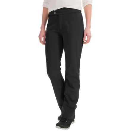 White Sierra Full Moon Soft Shell Pants - Waterproof (For Women) in Black - Closeouts