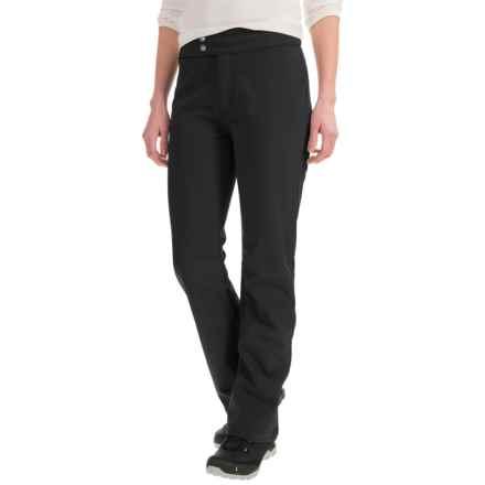 White Sierra Full Moon Soft Shell Pants - Waterproof (For Women) in Black - Closeouts