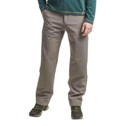 White Sierra Glacier Point Soft Shell Pants (For Men) in Arrowhead - Closeouts