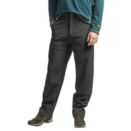 White Sierra Glacier Point Soft Shell Pants (For Men) in Black - Closeouts
