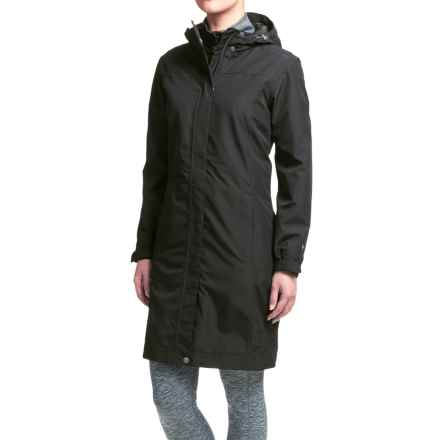 White Sierra Global Trench Coat - Waterproof (For Women) in Black - Closeouts