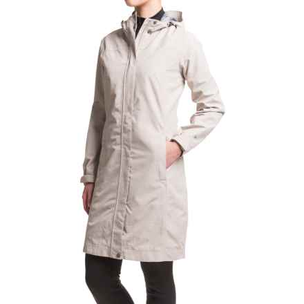 White Sierra Global Trench Coat - Waterproof (For Women) in Silver Grey - Closeouts