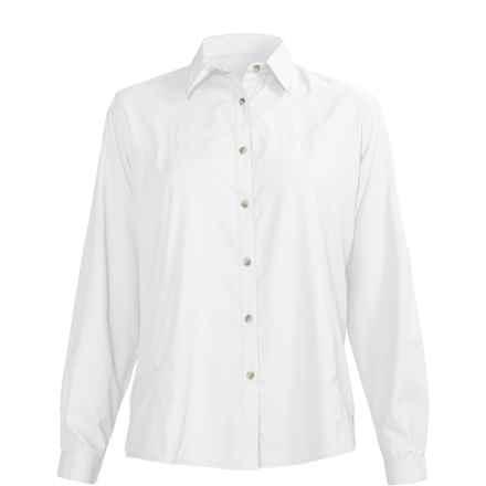 White Sierra Gobi Desert Shirt - UPF 30, Long Sleeve (For Women) in White - Closeouts