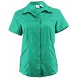 White Sierra Gobi Desert Shirt - UPF 30, Short Sleeve (For Women)