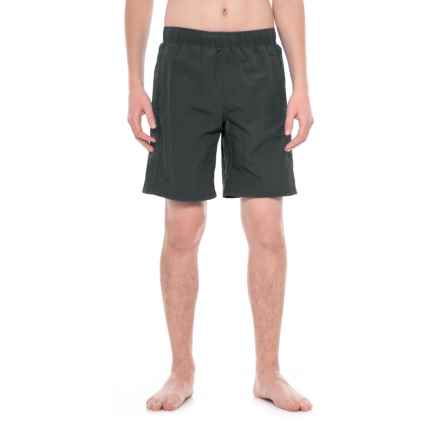 White Sierra Gold Beach Water Shorts (For Men) in Black - Closeouts