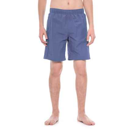 White Sierra Gold Beach Water Shorts (For Men) in Navy Ii - Closeouts