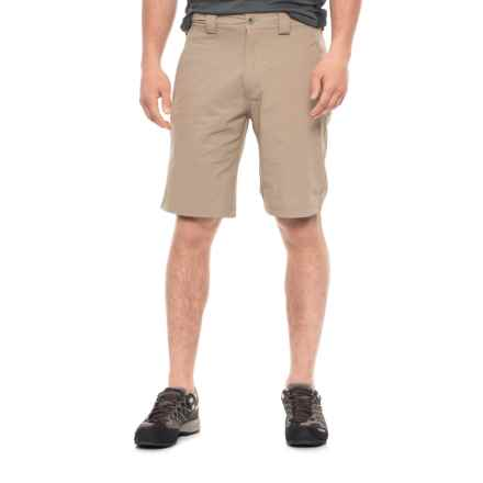 White Sierra Golden Gate Stretch Shorts (For Men) in Khaki - Closeouts