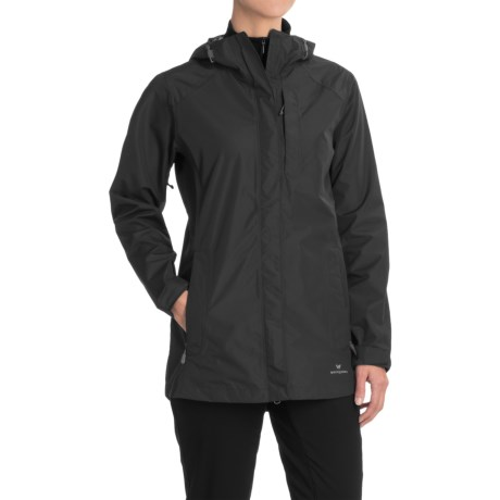 White Sierra Guide 2.5-Layer Jacket - Waterproof (For Women) in Black