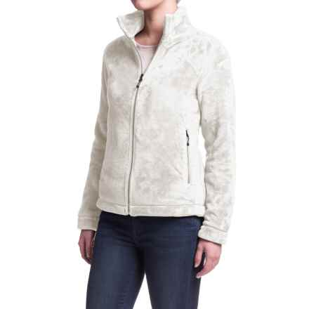 White Sierra Halifax II Hooded Fleece Jacket (For Women) in Cloud - Closeouts