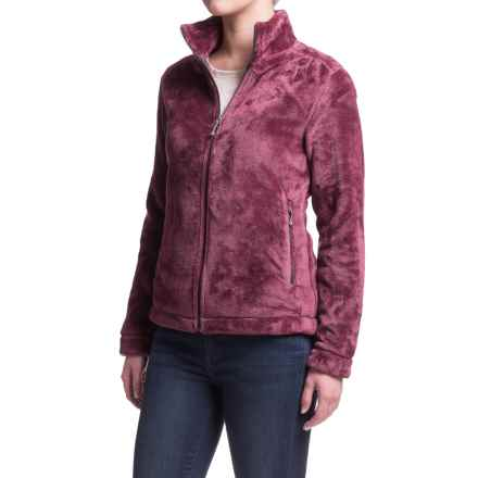White Sierra Halifax II Hooded Fleece Jacket (For Women) in Crushed Grape - Closeouts