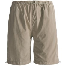 White Sierra Hanalei Bermuda Shorts (For Plus Size Women) in Stone - Closeouts