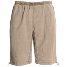 White Sierra Hanalei Shorts - UPF 30 (For Women) in Stone - Closeouts
