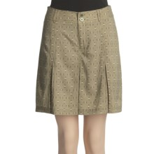 White Sierra Happy Hour Skort (For Women) in Bark Print - Closeouts