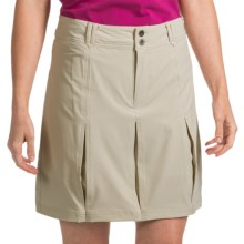White Sierra Happy Hour Skort (For Women) in Stone - Closeouts