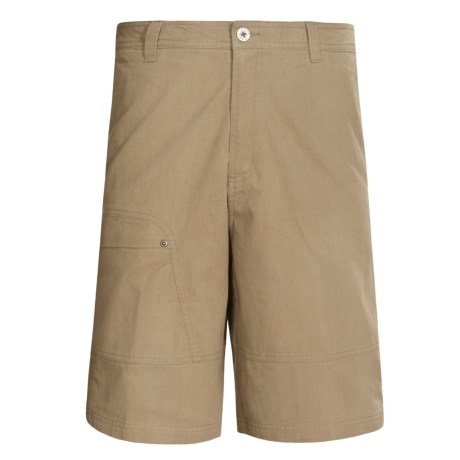 White Sierra Hells Canyon Shorts (For Men) in Bark