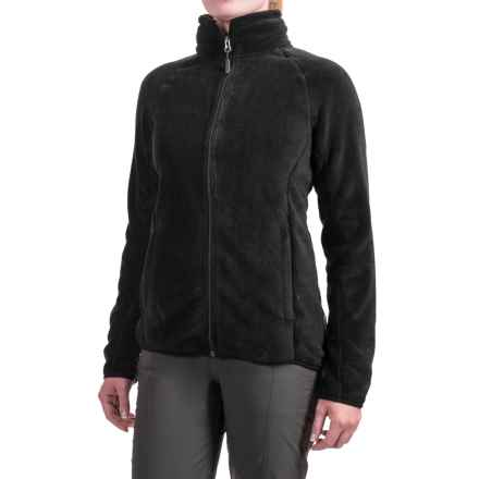 White Sierra Homewood Fleece Jacket (For Women) in Black - Closeouts