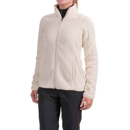 White Sierra Homewood Fleece Jacket (For Women) in Milky White - Closeouts