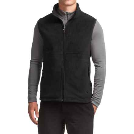 White Sierra Homewood Fleece Vest (For Men) in Black - Closeouts