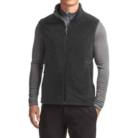 White Sierra Homewood Fleece Vest (For Men) in Charcoal Heather - Closeouts