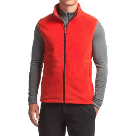 White Sierra Homewood Fleece Vest (For Men) in Formula One - Closeouts