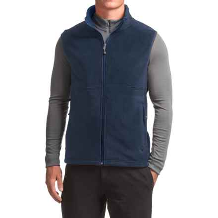 WHITE SIERRA HOMEWOOD FLEECE VEST (FOR MEN) in Navy - Closeouts