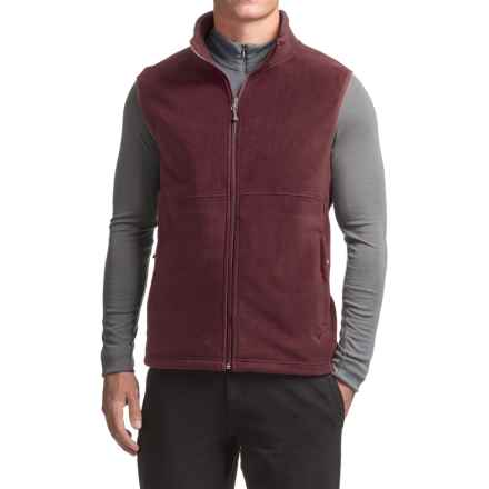 White Sierra Homewood Fleece Vest (For Men) in Redwood - Closeouts