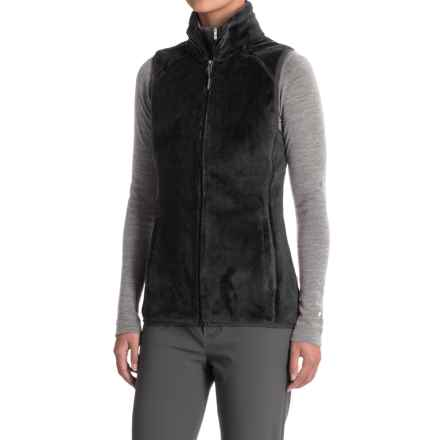White Sierra Homewood Fleece Vest (For Women) in Black - Closeouts