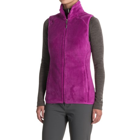 White Sierra Homewood Fleece Vest (For Women) in Clover