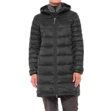 White Sierra Hooded Sierra Summit Down Parka (For Women) in Black - Closeouts