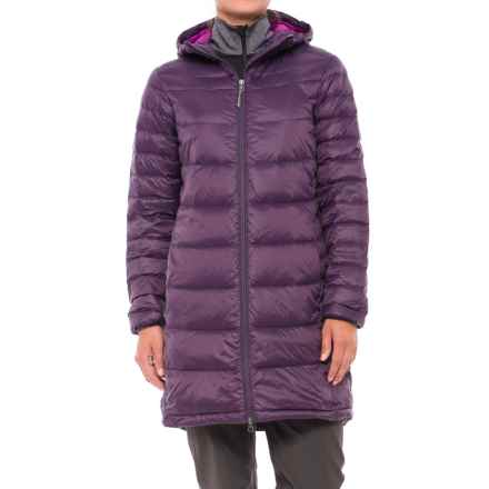 White Sierra Hooded Sierra Summit Down Parka (For Women) in Nightshade - Closeouts
