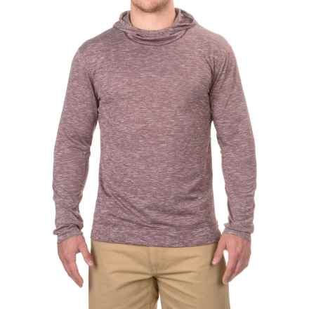 White Sierra Insect Shield® Base Camp Hoodie Shirt - Long Sleeve (For Men) in Redwood - Closeouts