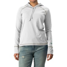 White Sierra Insect Shield® Bug Free Hoodie - UPF 30+ (For Women) in White - Closeouts