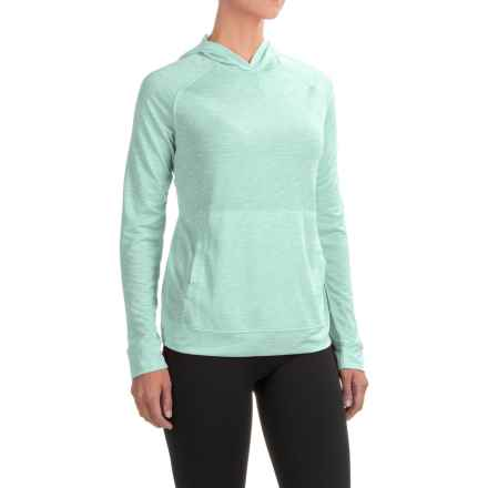 White Sierra Insect Shield® Free Trail Hoodie Shirt - Long Sleeve (For Women) in Icy Morn - Closeouts