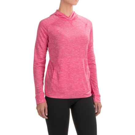 White Sierra Insect Shield® Free Trail Hoodie Shirt - Long Sleeve (For Women) in Raspberry - Closeouts
