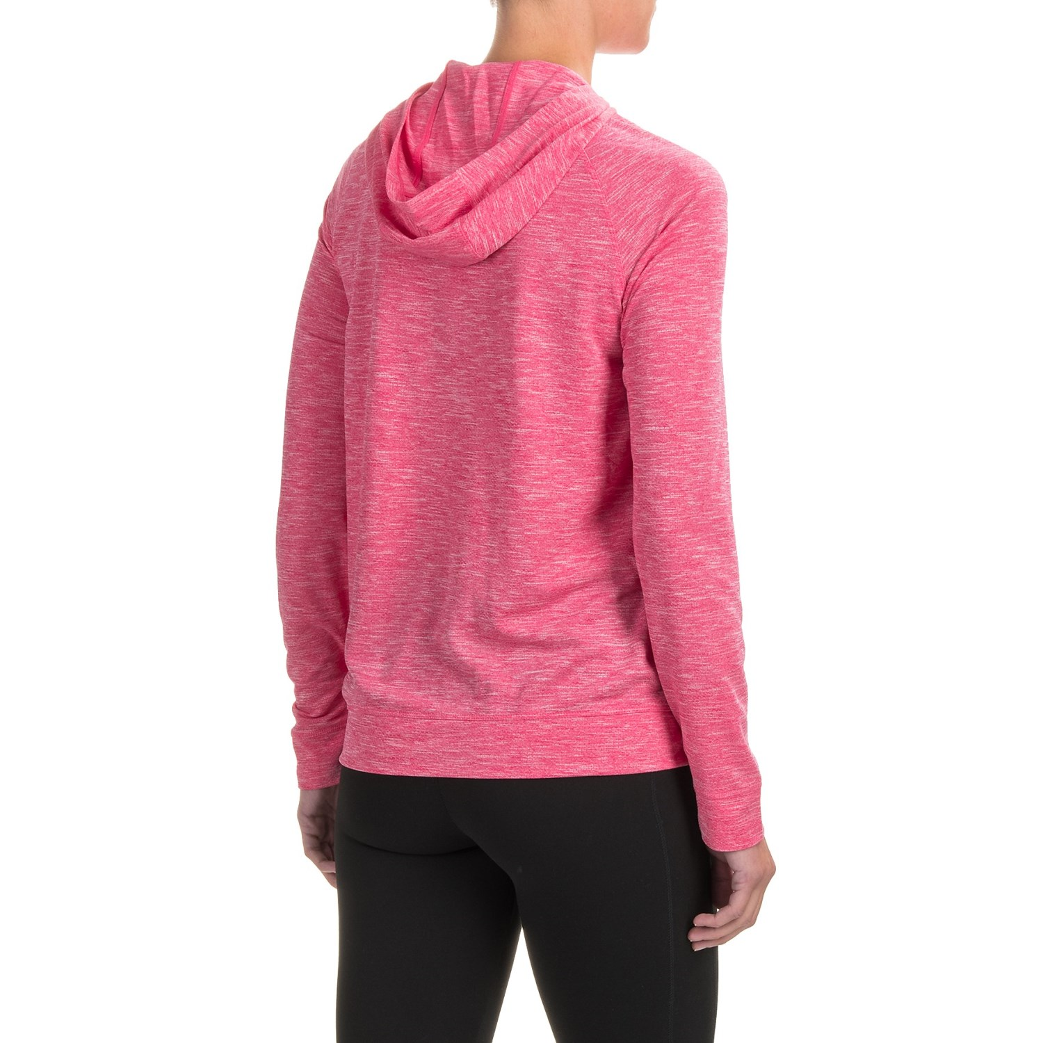 White Sierra Insect Shield® Free Trail Hoodie Shirt Long Sleeve (For Women)