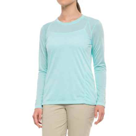 White Sierra Insect Shield® Marsh T-Shirt - Long Sleeve (For Women) in Aqua - Closeouts