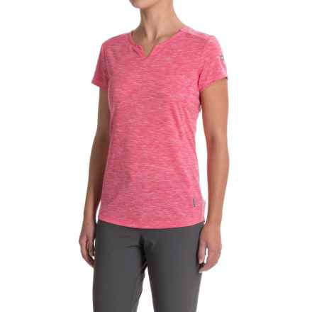 White Sierra Insect Shield® Trail T-Shirt - Short Sleeve (For Women) in Raspberry - Closeouts