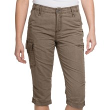 White Sierra Island Hopper Skimmer Shorts - UPF 30 (For Women) in Bark - Closeouts