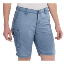 White Sierra Island II Shorts - UPF 30, Quick-Dry Nylon (For Women) in Vintage Indigo - Closeouts