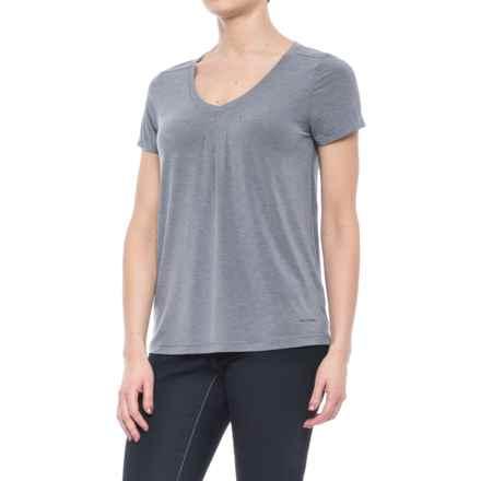 White Sierra Kalahari II T-Shirt - Modal Blend, Short Sleeve (For Women) in Crown Blue - Closeouts