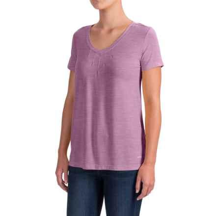 White Sierra Kalahari II T-Shirt - Modal Blend, Short Sleeve (For Women) in Dark Purple - Closeouts